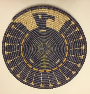 Talking God / Bluebird Basket - weaver Peggy Black, design Damian Jim